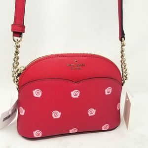 Kate Spade NEW Red Multi Dome Crossbody